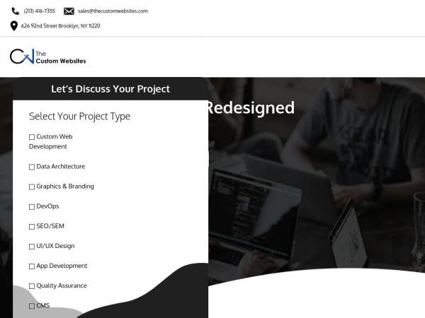 thecustomwebsites.com